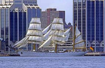 Das legendäre Marine Schulschiff Gorck Fock II
