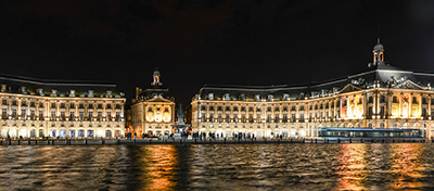 Bordeaux water mirror